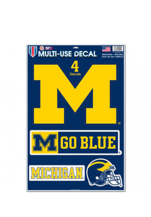 Michigan Wolverines 11x17 Multi Use Decal