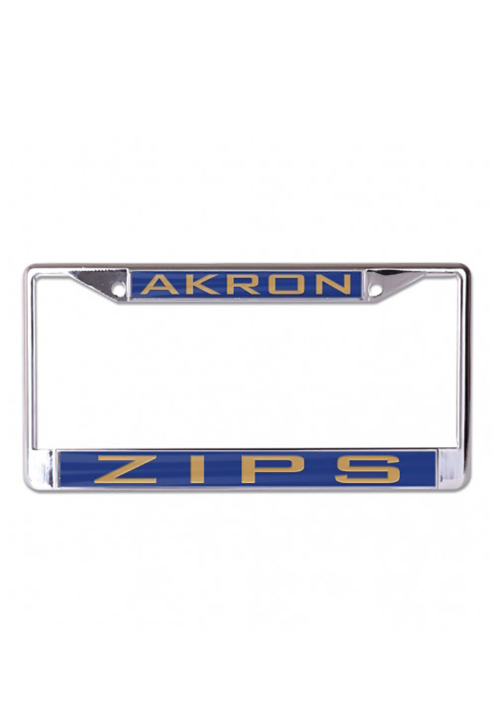 Akron Zips Team Name In License Frame - Image 1