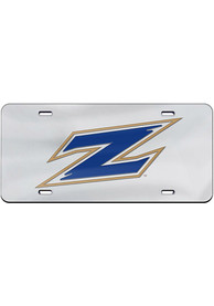 Akron Zips Team Logo Inlaid Car Accessory License Plate