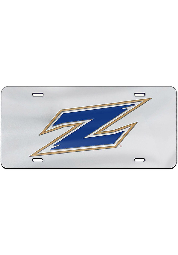 Akron Zips Team Logo Inlaid Car Accessory License Plate - Image 1