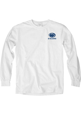 Penn State Womens Own It White LS Tee