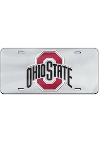 Ohio State Buckeyes Team Logo Inlaid Car Accessory License Plate
