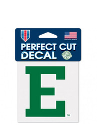 Eastern Michigan Eagles 4x4 Perfect Cut Auto Decal - Green
