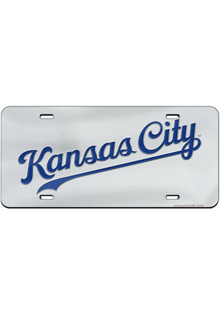 Kansas City Royals Jersey Logo Car Accessory License Plate