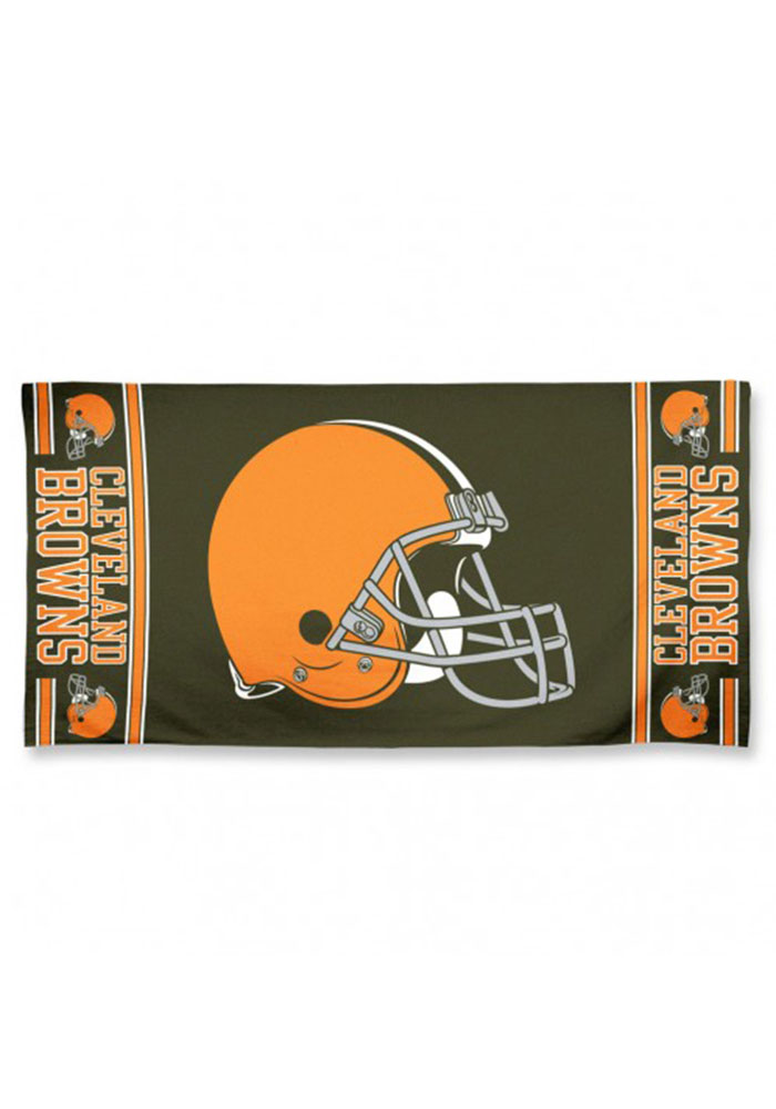 Cleveland Browns Team Logo Beach Towel - Image 1