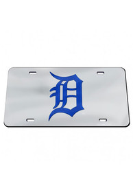 Detroit Tigers Team Logo Inlaid Car Accessory License Plate