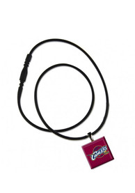 Cleveland Cavaliers Womens LifeTile Necklace - Maroon