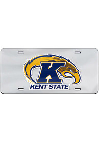 Kent State Golden Flashes Team Logo Inlaid Car Accessory License Plate