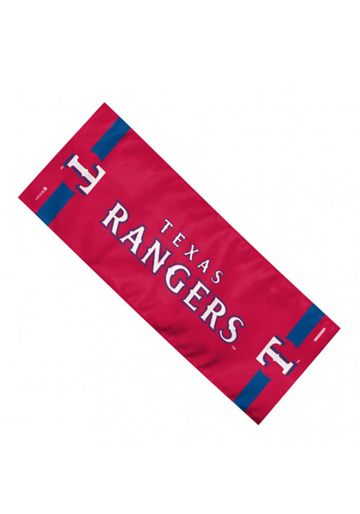 Texas Rangers Team Logo Cooling Towel - Image 1