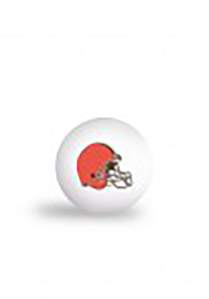 Cleveland Browns 6 Pack Ping Pong Balls - Image 1