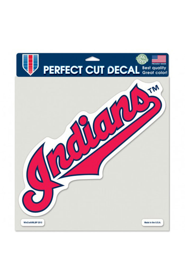 Cleveland Indians Perfect Cut Decal - Image 1