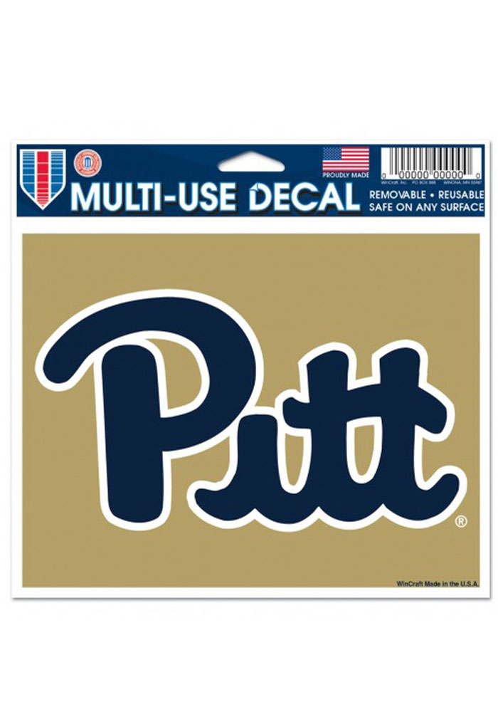Pitt Panthers Multi Use Decal - Image 1