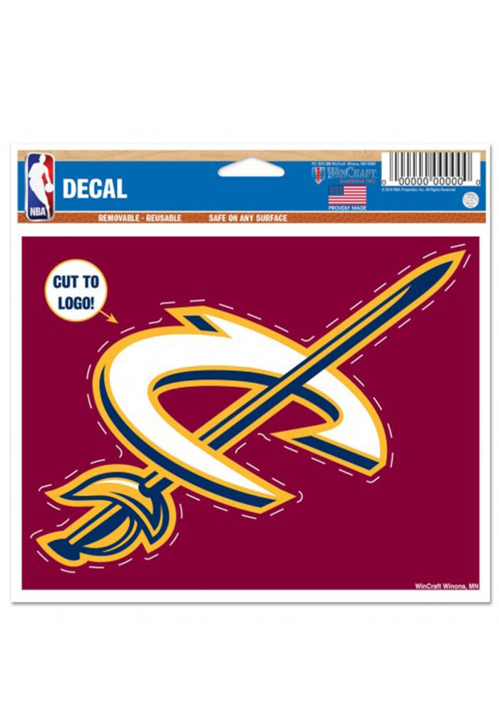 Cleveland Cavaliers Multi Use Decal - Image 1