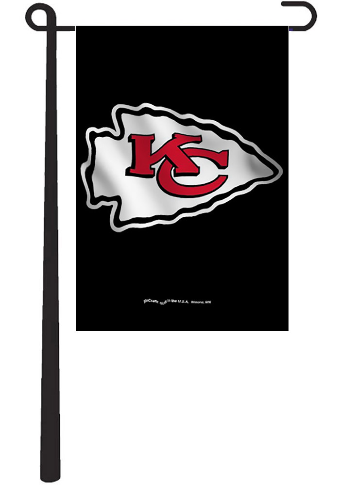 Kansas City Chiefs Team Logo Garden Flag - Image 1