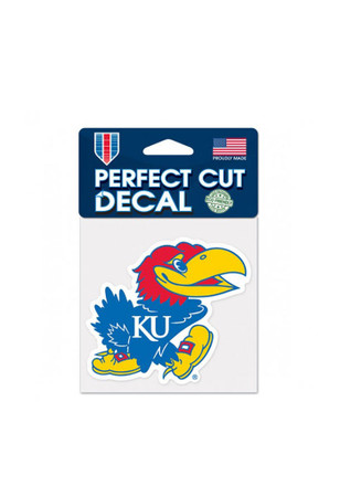 Kansas Jayhawks Perfect Cut Decal