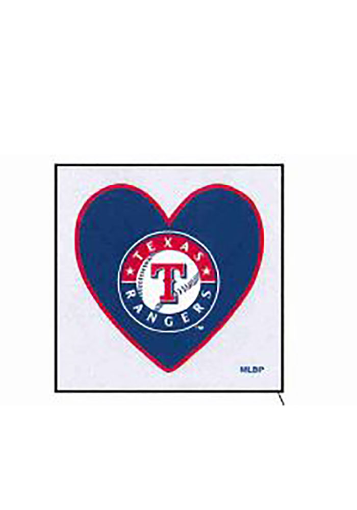 Texas Rangers Heart 4 Pack Tattoo - Image 1