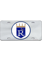 Kansas City Royals Cooperstown Logo Inlaid Car Accessory License Plate