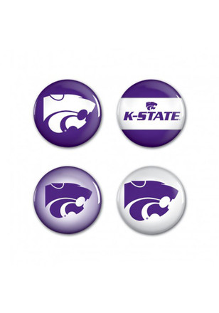 K-State Wildcats 4 Pack Button