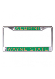 Wayne State Warriors Alumni Inlaid License Frame