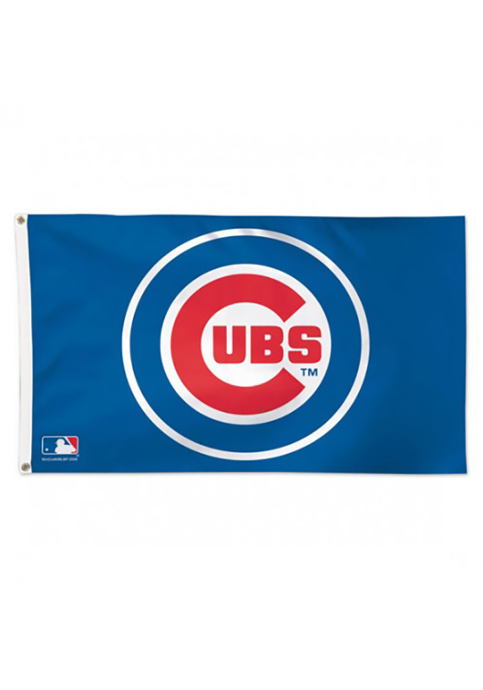 photograph regarding Printable Cubs W Flag known as Chicago Cubs Personnel Symbol Grommet Blue Silk Exhibit Grommet Flag