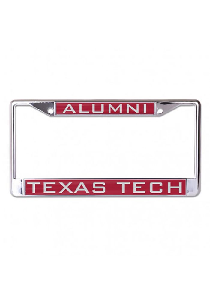 Texas Tech Red Raiders Alumni Inlaid License Frame - Image 1