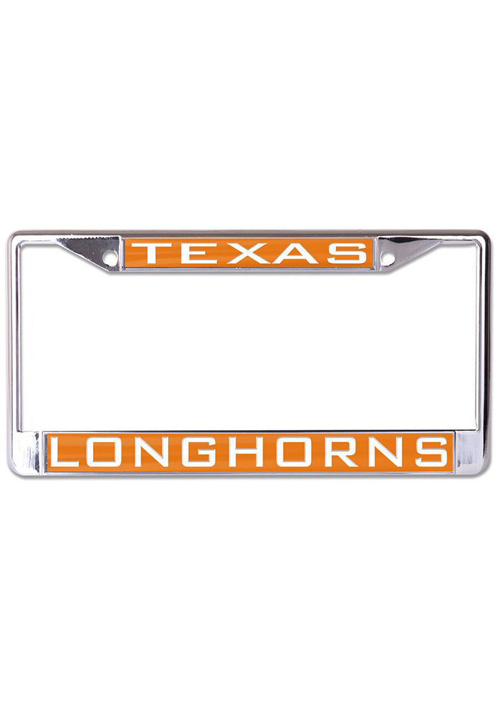 Texas Longhorns Team Name Inlaid License Frame - Image 1