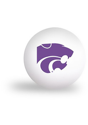 K-State Wildcats 6 pack Ping Pong Balls