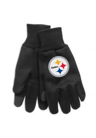 Pittsburgh Steelers Technology Gloves - Black