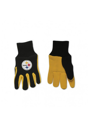 Pittsburgh Steelers Two Tone Gloves