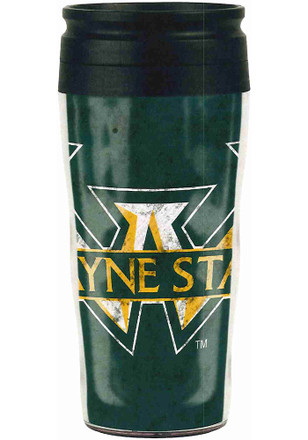 Wayne State Warriors Contour Travel Mug
