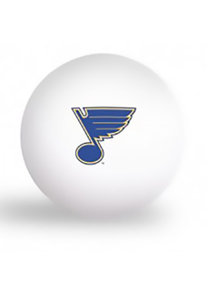 St Louis Blues Team Logo Ping Pong Balls - Image 1