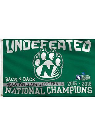 Northwest Missouri State Bearcats National Championship Green Silk Screen Grommet