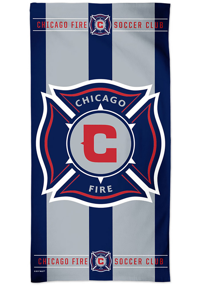 Chicago Fire 30x60 Beach Towel