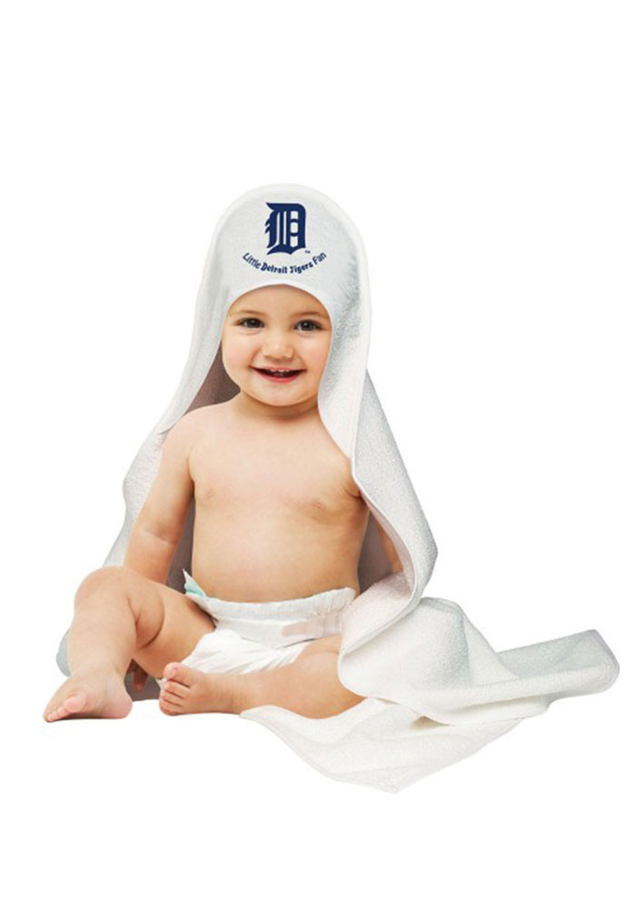 Detroit Tigers Hooded Baby Bath Accessory - Image 1