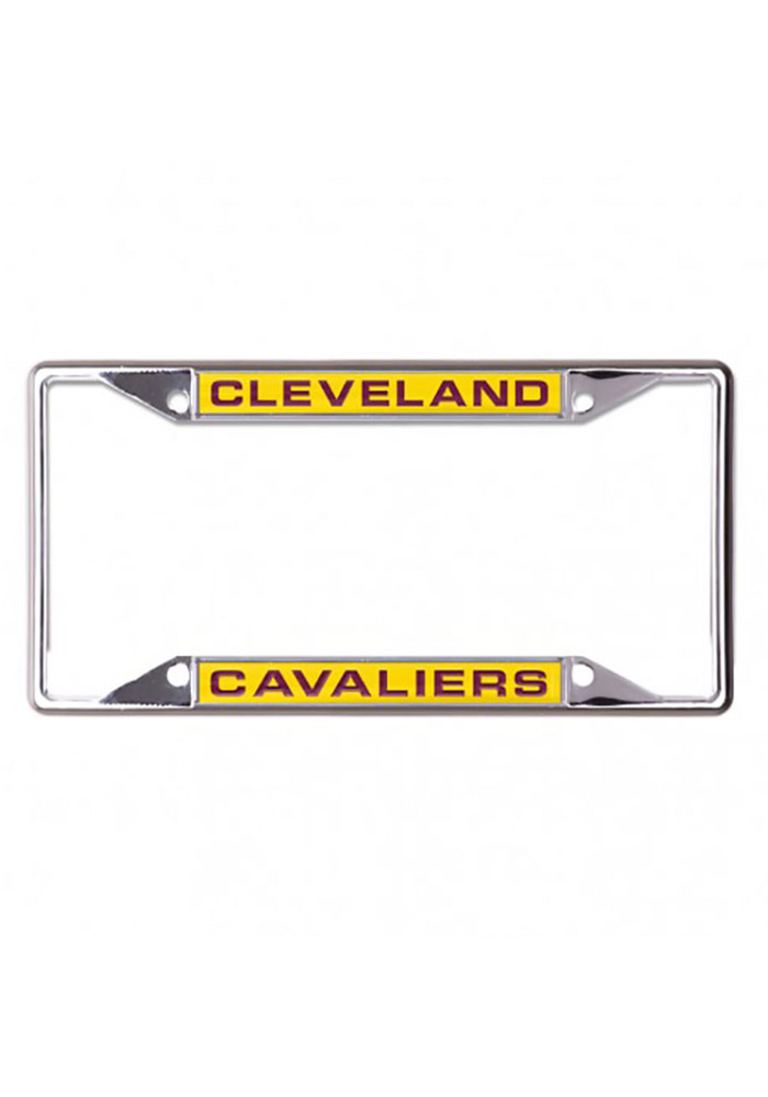 Cleveland Cavaliers Small Inlaid License Frame - Image 1