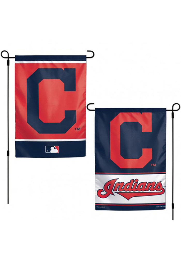 Cleveland Indians 2-Sided Team Logo Garden Flag - Image 1