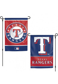 Texas Rangers 2-Sided Team Logo Garden Flag