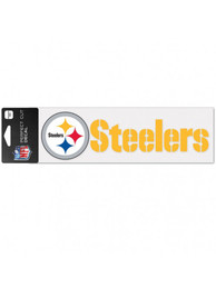 Pittsburgh Steelers 3x10 Perfect Cut Auto Strip - Yellow