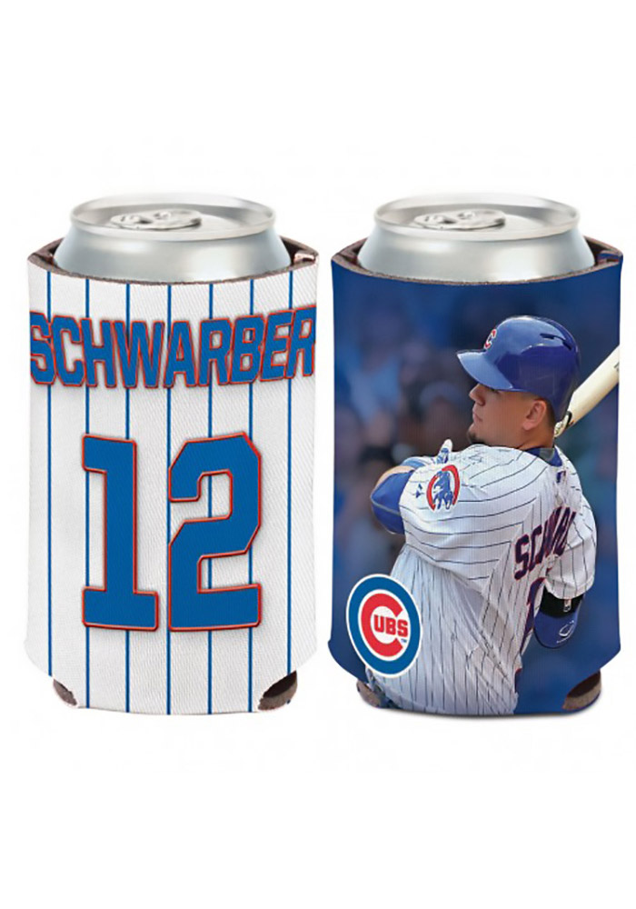 Chicago Cubs Kyle Schwarber Player Koozie - Image 1