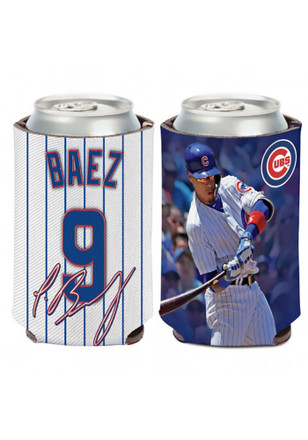 Chicago Cubs Javier Baez Player Koozie