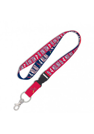 Yadier Molina St Louis Cardinals Detachable Lanyard
