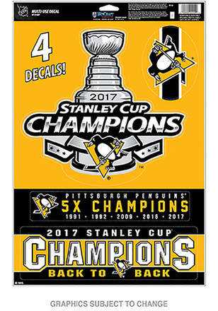 Pittsburgh Penguins 2017 Stanley Cup Champions Magnet