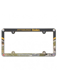 Pittsburgh Steelers Plastic Full Color License Frame