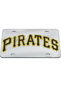 Pittsburgh Pirates Jersey Logo Inlaid Car Accessory License Plate