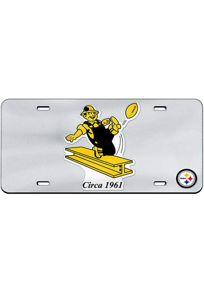 Pittsburgh Steelers 1961 Team logo Car Accessory License Plate - Image 1