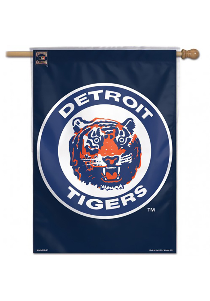 Detroit Tigers Cooperstown Banner - Image 1