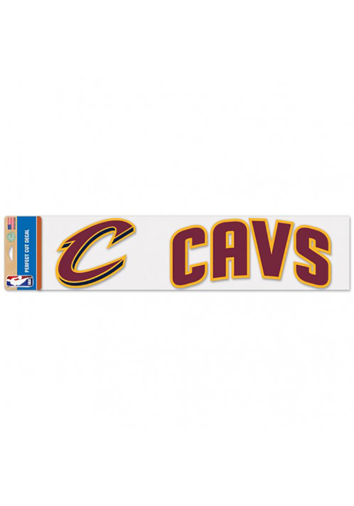 Cleveland Cavaliers 4x17 Perfect Cut Decal - Image 1