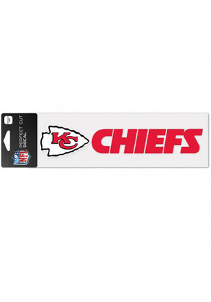Kansas City Chiefs 3x10 Perfect Cut Decal