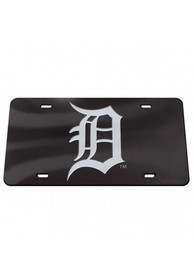 Detroit Tigers Crystal Mirror Car Accessory License Plate