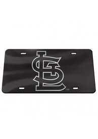 St Louis Cardinals Crystal Mirror Car Accessory License Plate